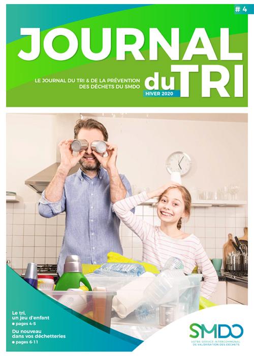 Couverture du Journal du Tri et de la Prévention N°4